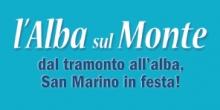 Alba sul Monte San Marino