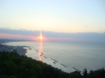 Sonnenuntergang Gabicce Monte