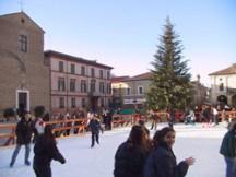 Eislaufplatz Cervia Italien