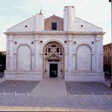 Malatesta Tempel Urlaub Rimini
