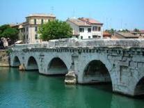 Urlaub Rimini Tiberiusbrücke
