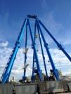 Riesenrad Hafen Rimini
